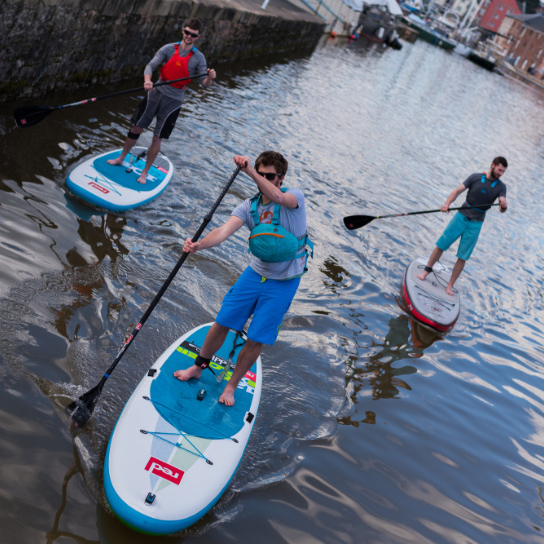 Paddleboard Lessons in Exeter