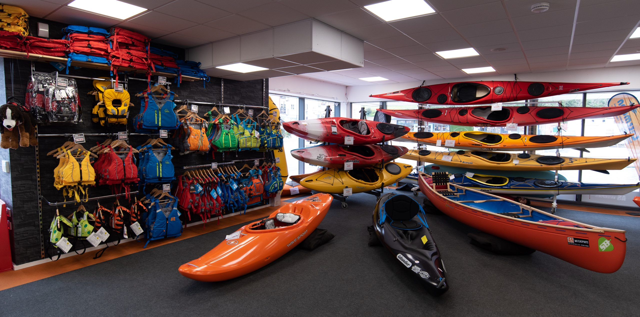 AS Watersports Canoe Kayak Shop Exeter