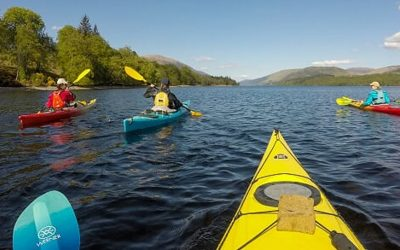 Kayaking the Great Glen