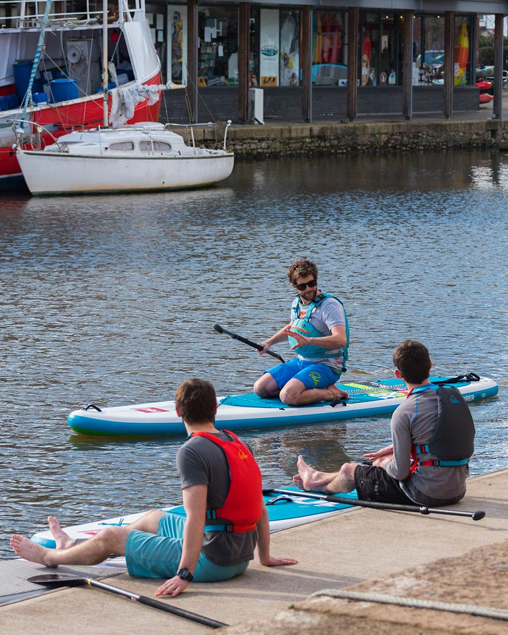 One to One Paddleboard Lessons in Exeter