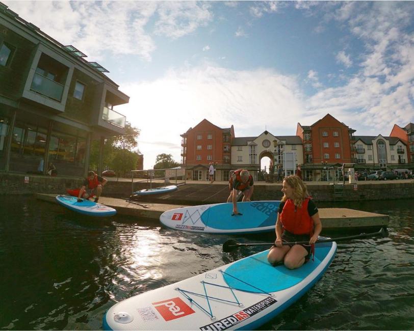 Beginner Paddleboard Lessons in Exeter