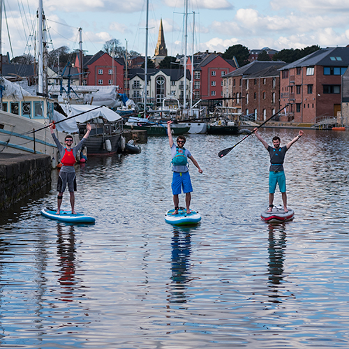 Paddleboard Lessons in Devon