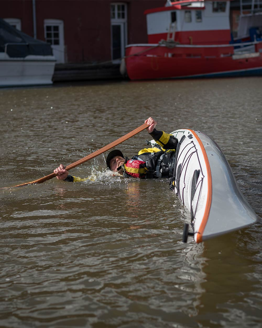 Sea Kayak Rolling Lessons in Exeter