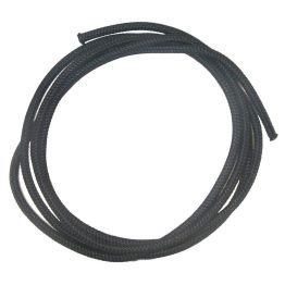 Braided Cord 2mm Black - 5m