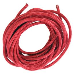 Braided Cord 5mm Red - 5m
