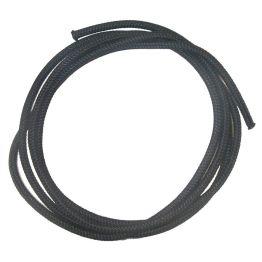 Braided Cord 5mm Black - 5m