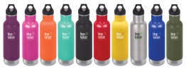 Klean Kanteed Insulated 20oz (592ml) Bottle