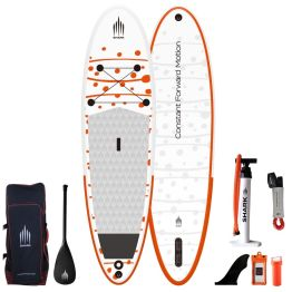 """Shark All Round 10'2"""" 30"""" 5"""" Inflatable SUP Package"""