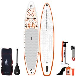 """Shark Touring 12'6"""" 30"""" 6"""" Inflatable SUP Package"""