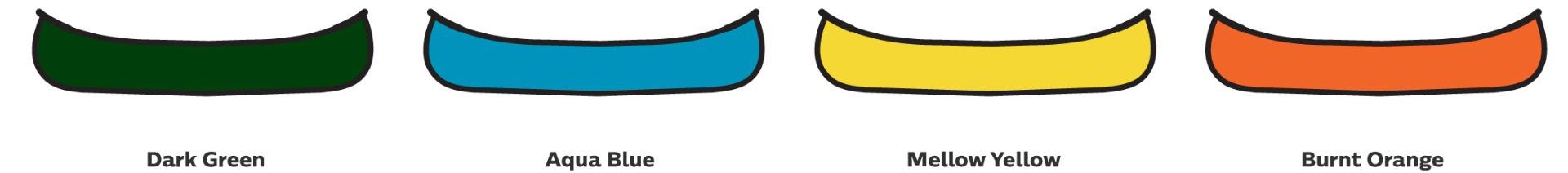 Venture Canoes Colour Chart
