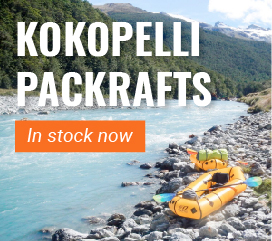 AS Watersports Aquaglide kokopelli packrafts in stock