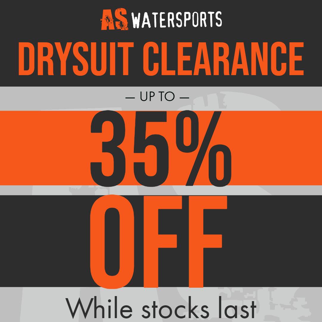 Drysuit Clearance